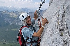 Klettersteig Bandschlinge : Klettersteig skala