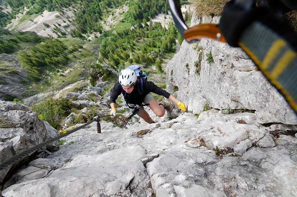 Franz Josef Klettersteig : Union trendsport weichberger kaiser franz josef klettersteig