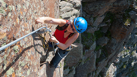 Klettersteigset Platte : Steinbock pitztaler klettersteig