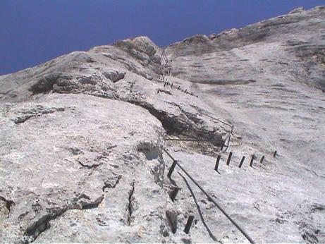 Klettersteig Johann Dachstein : Klettersteig.com ::: diretissima