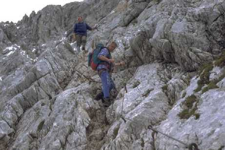 Klettersteig Garmisch : Klettersteig mauerläufer garmisch