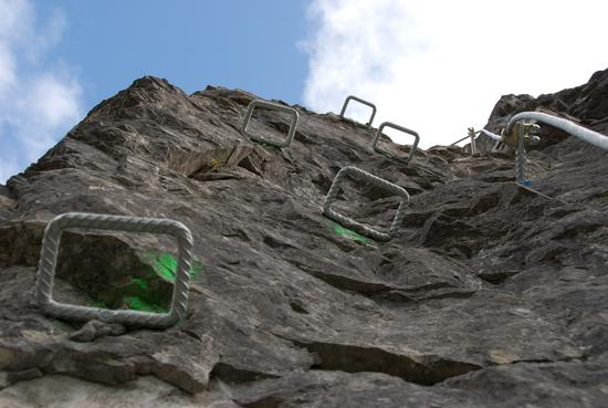 Klettersteig Gerlossteinwand : Gerlosstein klettersteig