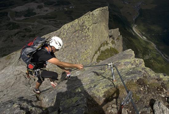 Klettersteigset Notwendig : Silvapark klettersteig galtÜr