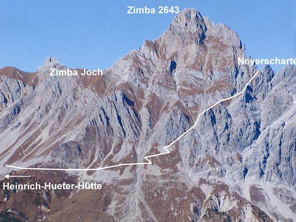 Klettersteig Saulakopf : Saula klettersteig rätikon